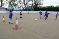 DASC Disley Football for Fun match practice