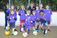 DASC Disley Football for Fun team photo