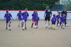 DASC Disley Football for Fun training