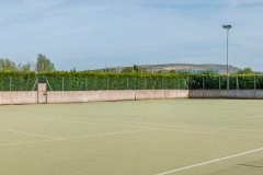 The multi-purpose astroturf pitch at DASC, Disley
