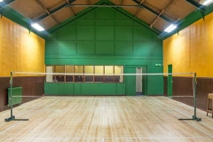 Badminton court, DASC, Disley.