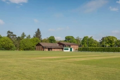 DASC clubhouse from the cricket pitch
